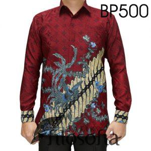 Batik Pria Merah Ati