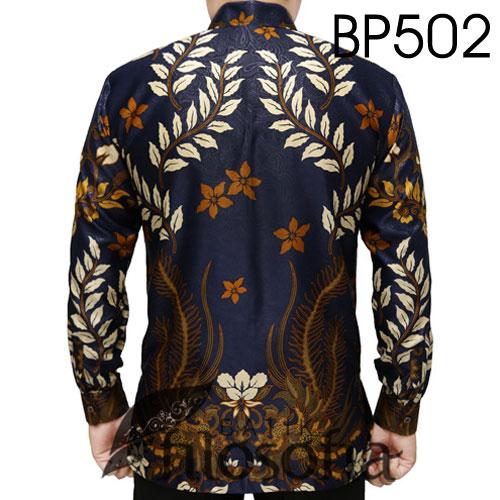 Gambar Baju Batik Satin Elegan