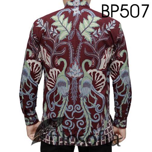 Gambar Batik Tulis Pria Premium