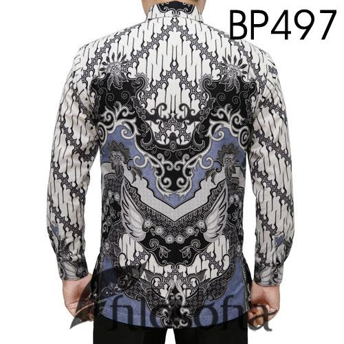 Gambar Kemeja Batik Pria Klasik