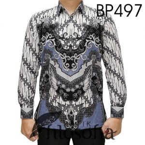 Kemeja Batik Pria Klasik