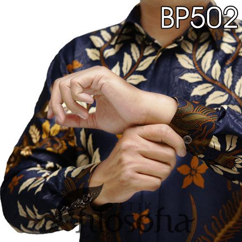 Picture Baju Batik Satin Elegan