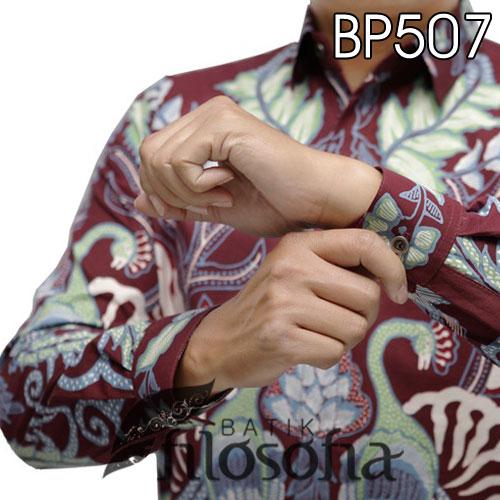 Picture Batik Tulis Pria Premium