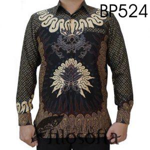 Baju Batik Semi Sutra Unik