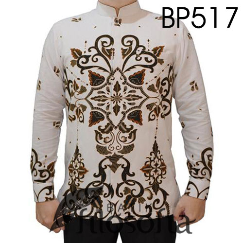 Batik Kerah Koko Formal
