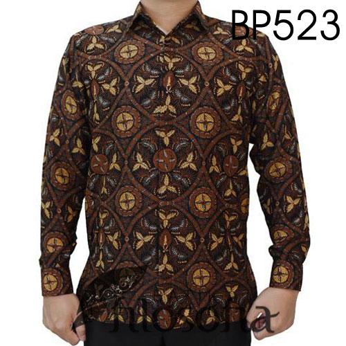 Batik Semi Sutra Modern