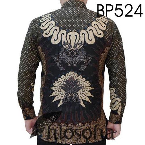 Gambar Baju Batik Semi Sutra Unik