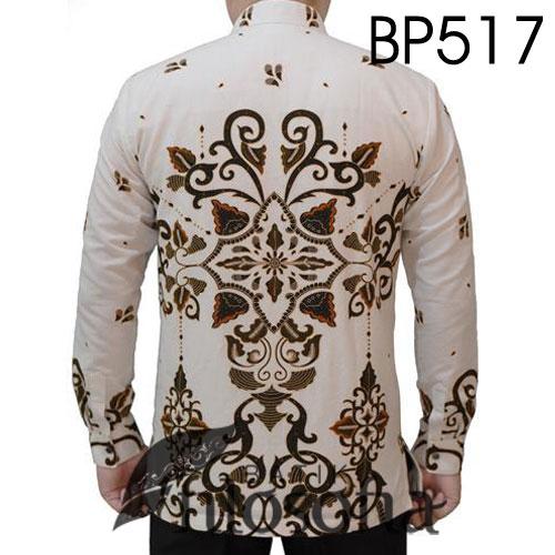 Gambar Batik Kerah Koko Formal