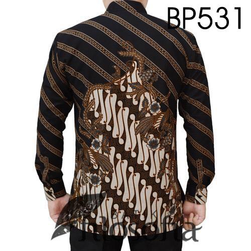 Gambar Baju Batik Pria Elegan