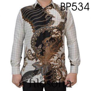 Kemeja Batik Elegan Terbatas