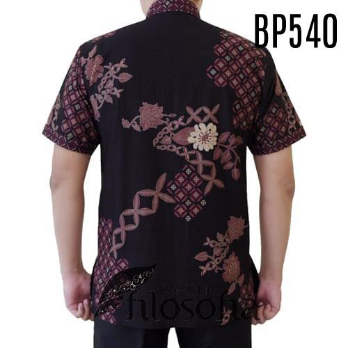 Gambar Batik Koko Pria Katun