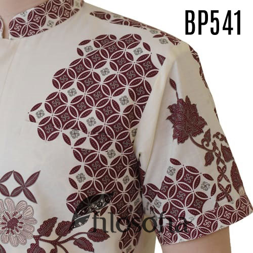 Images Batik Pria Kerah Shanghai