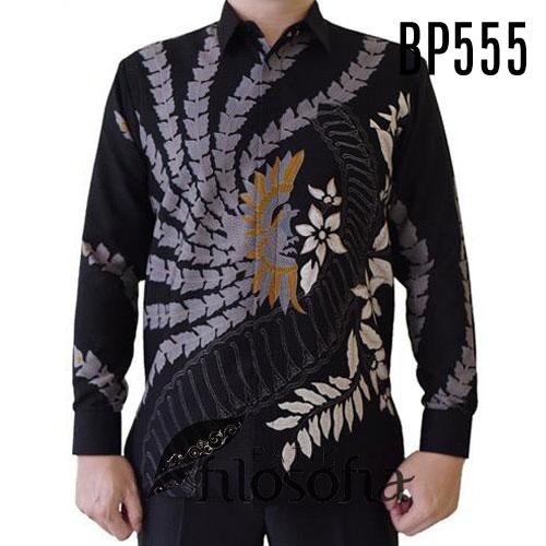 Batik Pria Formal Semi Sutra