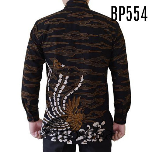 Gambar Hem Batik Pria Resmi