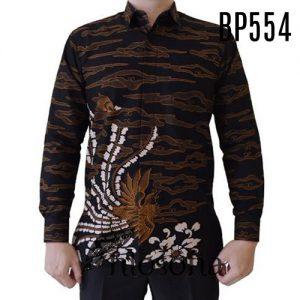 Hem Batik Pria Resmi