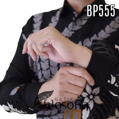 Images Batik Pria Formal Semi Sutra
