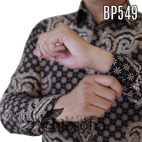 Images Hem Batik Pria Semi Sutra