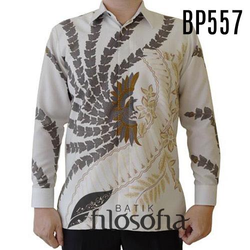 Kemeja Batik Cerah