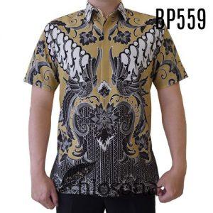 Batik Pria Resmi Lengan Pendek