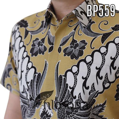 Images Batik Pria Resmi Lengan Pendek