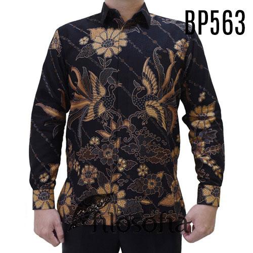Batik Pria Warna Gelap