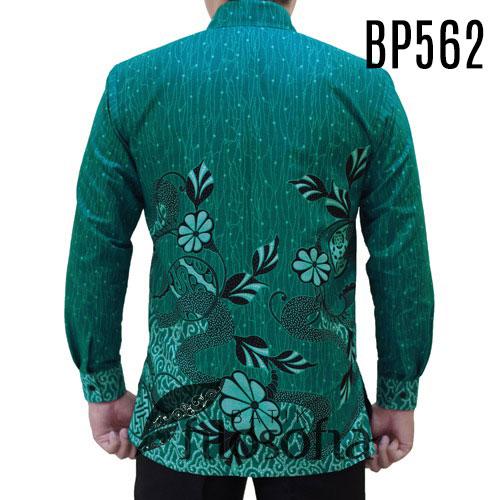 Gambar Kemeja Batik Warna Hijau