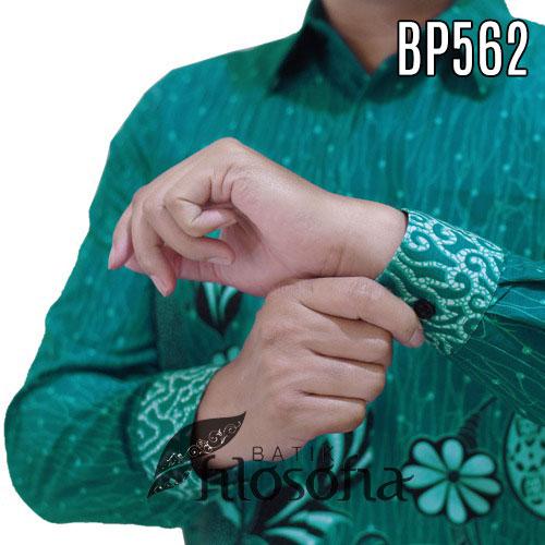 Images Kemeja Batik Warna Hijau