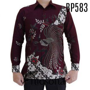 Baju Batik Cendrawasih