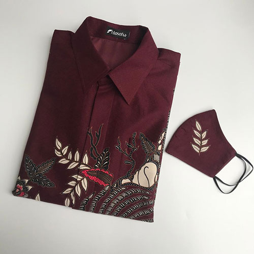 Pictures Baju Batik Cendrawasih