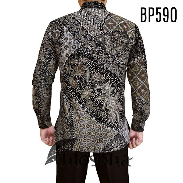 Gambar kemeja batik pria kode 590