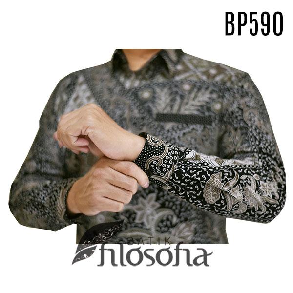 Images Gambar kemeja batik pria kode 590
