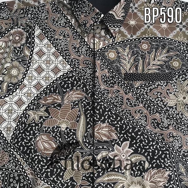 Realpic Images Gambar kemeja batik pria kode 590