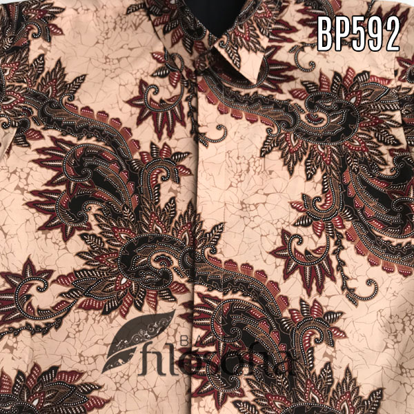 Realpic Batik Pria Lengan Panjang