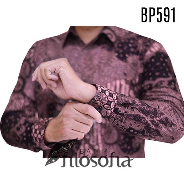 Gambar Batik Pria Katun Modern (2)