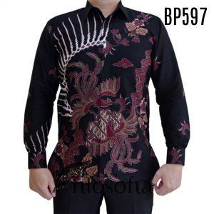 Batik Pria Katun Dobby