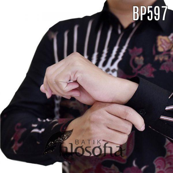 Gambar Batik Pria Katun Dobby