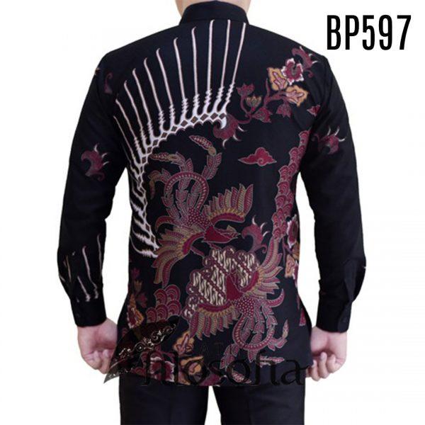 Pictures Batik Pria Katun Dobby