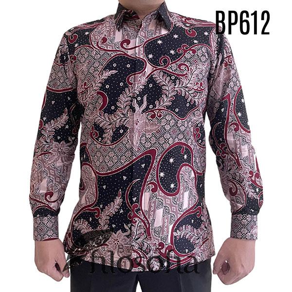 Baju Batik Katun Pria