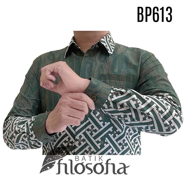 Gambar Kemeja Batik Hijau