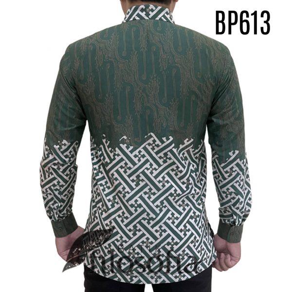 Picture Kemeja Batik Hijau