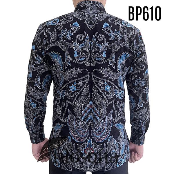 Picture Kemeja Batik Hitam