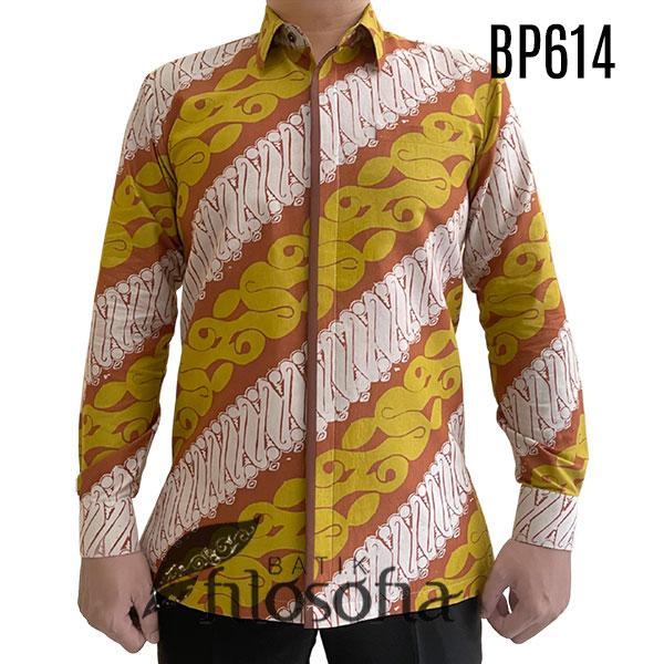 Baju Batik Kuning
