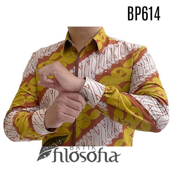 Gambar Baju Batik Kuning