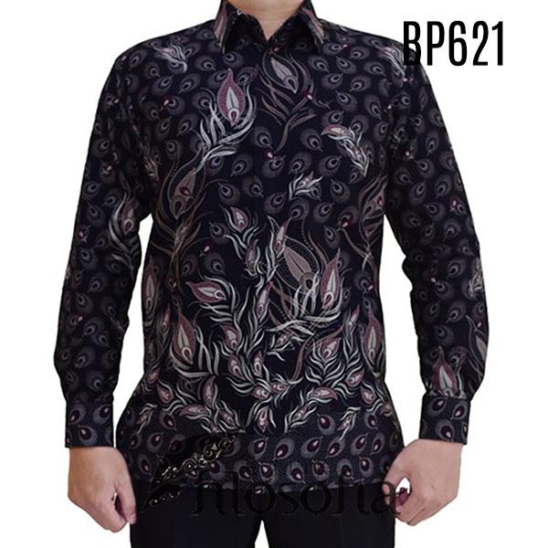 Baju Batik Bunga Simple