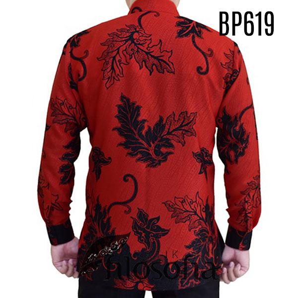 Images Kemeja Batik Merah Pria