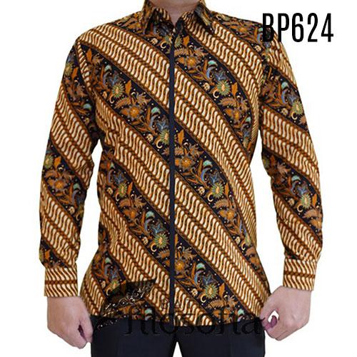 Kemeja Batik Pria Mewah