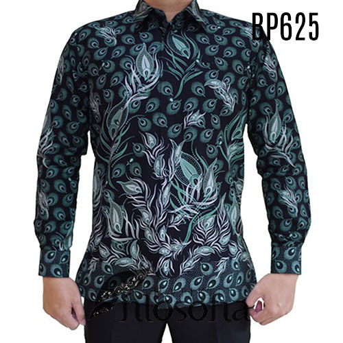 Kemeja Panjang Batik Pria