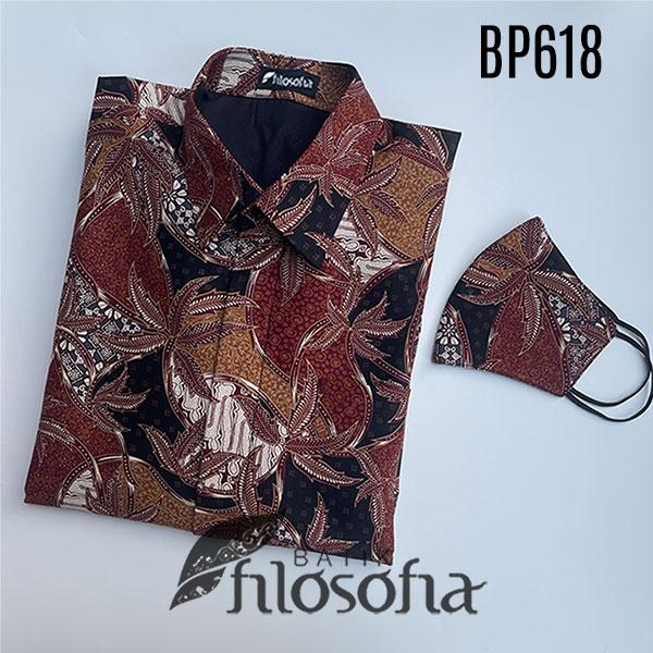 Picture Kemeja Batik Lelaki Lengan Panjang