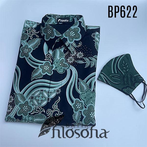 Pictures Kemeja Batik Warna Hijau